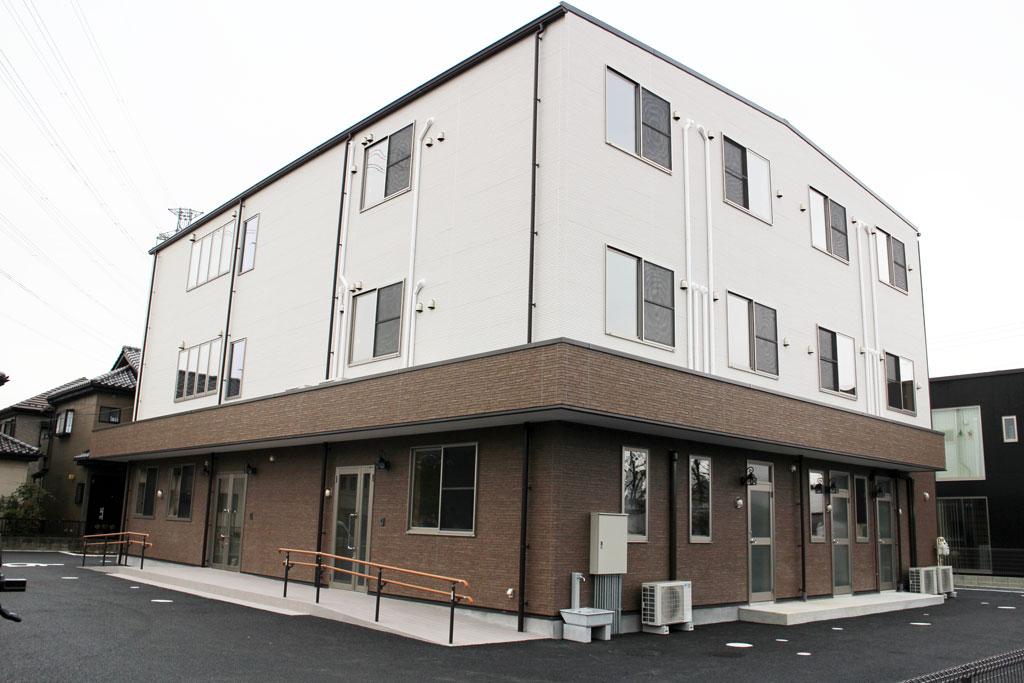 鉄骨ビル新築 - 「介護施設」